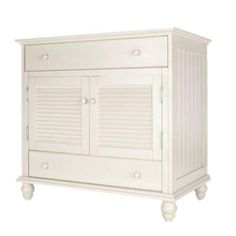 Foremost Cottage 36 in. W x 34 in. H x 21.5 in. D. Vanity Cabinet Only in Antique White-CTAA3622D at The Home Depot
