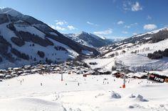 Winterurlaub in Saalbach Hinterglemm Der Bus, The Province, Salzburg, Austria, Mount Everest, Skiing, Mountains, Travel, Ski Resorts