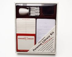 I might need one of these ... I never can remember who I lent a book to!