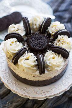 쿠키크&크림 오레오 아이스크림 케이크