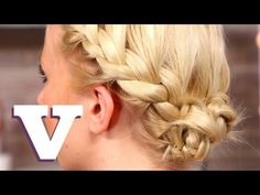Easy Updo For Short Hair: Hair With Hollie S05E5/8