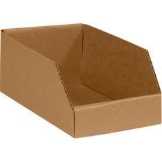Die cut bin box