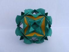 Origami Tutorial: Sandclover Cube (Martin Sejer Andersen) - YouTube
