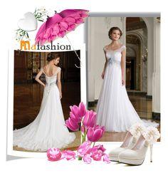 """""""Mafashion 16"""" by selmina ❤ liked on Polyvore featuring Déesse, Persol, bride, beautiful, weddingdress and mafashion"""