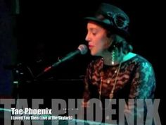 """local (seattle) artist tae phoenix sings """"i loved you then."""""""