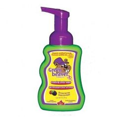 Green Beaver Junior Body Wash for Toddlers and Kids