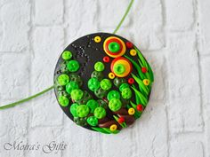 Midsummer's Night Dream Polymer clay jewelry by MoirasGifts
