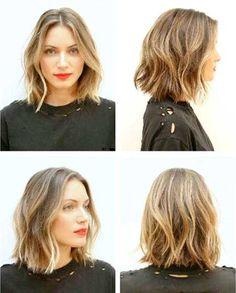 30 Trends 2015 Modern Sizes and Trends - Short and Medium Length Hair - Hair - cheveux Hair Styles 2014, Medium Hair Styles, Short Hair Styles, Bob Hairstyles, Pretty Hairstyles, Wedding Hairstyles, Bob Haircuts, Hairstyle Ideas, Edgy Short Haircuts