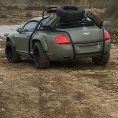 #Bentley_Continental #Custom #Modified #OffRoad #Lifted