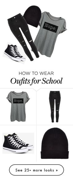 """Classic School"" by meghanereilly on Polyvore featuring Converse, New Look and River Island Nail Design, Nail Art, Nail Salon, Irvine, Newport Beach"