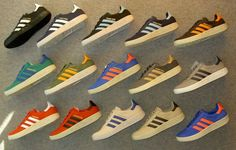 Which is your favorite color of the Adidas Trimm Trabs? I used to have the sky blue on navy blue one.