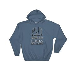 LIBRA-PUT SOME RESPECT ON IT Hooded Sweatshirt