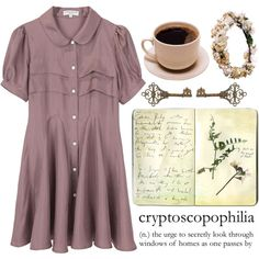 Secretly by cmassaro on Polyvore featuring Opening Ceremony, Moleskine and Datura