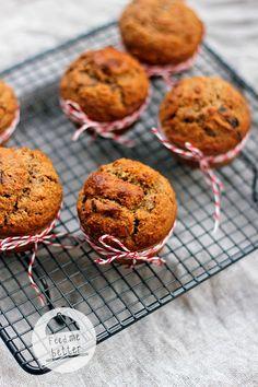 Muffinki z platkow owsianych