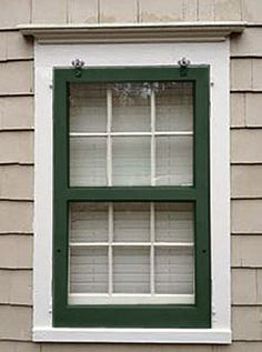 Wood storm windows, aluminum storm windows, interior storm windows, screen windows all alter curb appeal. Which exterior storm windows designs look best.