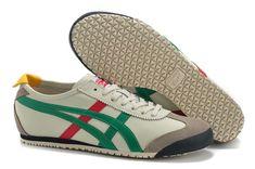 promo code 17d75 c0b7a Onitsuka Tiger Mexico 66 (Beige  Green  Red  Black) Shoes  onitsukatiger.  Tianjinshit · asics