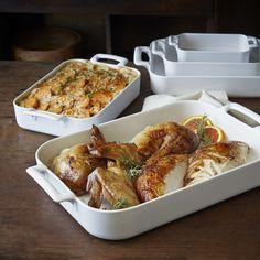 Revol Belle Cuisine Rectangular Roasting Dishes | Sur La Table
