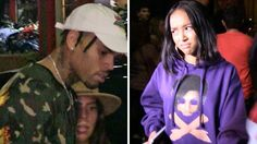 Chris Brown & Karrueche Tran Run-In at Kylie Jenners Party
