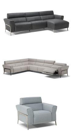 Życie przebiega w zupełnie innym tempie, gdy widzimy je z sofy Eleganza. Sofa jest w pełni rozkładana, co oznacza, że możesz się całkowicie położyć. #furniture #interiordesign #sofa #natuzzi #home #meble #kanapy #armchair #sofas #cornersofa Living Room Sofa Design, Living Room Decor, Sofa Furniture, Furniture Projects, New Home Designs, Diy Home Crafts, Tv Unit, Modern Sofa, Diy Room Decor