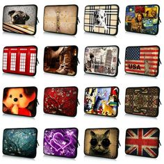Notebook Sleeve 7 9.7 10.1 12 13 13.3 14 14.1 15 15.6 17 17.3 inch laptop bag sleeve case cover for macbook air pro case #R