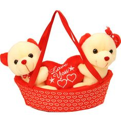 Couple teddy in a boat  Rs 620/- http://www.tajonline.com/valentines-day-gifts/product/slw685/couple-in-boat-hanging-and-sitting-teddy-bear/?Aff=pint2015/