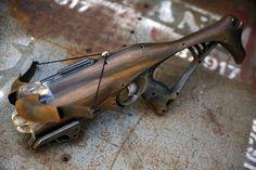 Cool Nerf Guns, Nerf Mod, Steampunk Gun, Crossbow Arrows, Prop Design, Airsoft, Firearms, Hand Guns, Weapons