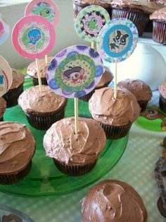 Littlest Pet Shop Birthday Party - great ideas for Hannahs 4th birthday!