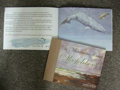 It's whale watching season on our coast and you can read all about it in the book.
