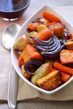 Roasted Vegetables with Rosemary