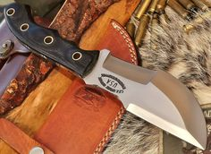 CFK USA Custom Handmade D2 Tool Steel Tactical Bushcraft WSK Tracker Knife 2nd   eBay