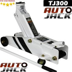 The new smart looking Autojack is without doubt the best value 3 tonne trolley jack out on the market>. 1 x Trolley Jack with capacity 3 Ton. This is our High quality strong, sturdy 3 ton jack! Jack And Jack, Tonne, Safety, Workshop, Van, Flooring, Steel, Security Guard, Atelier