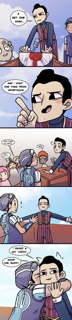 i watched 1 episode of lazytown with my pal he's big into it but i'm not really very familiar this is what i took away from the episode tho Lazy Town Comic Lazy Town Robbie, Lazy Town Sportacus, Lazy Town Memes, Stingy Lazy Town, Stefan Karl, Robbie Rotten, Satirical Illustrations, Fanart, Disney Cartoons
