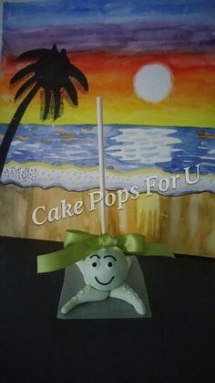 Under the ocean octopus cake pop.