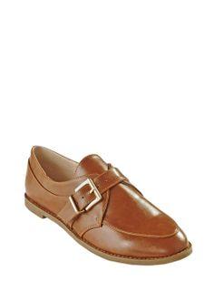 Buckle Strap Monk Shoe - Matalan