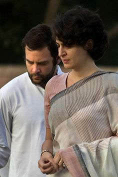 Priyanka Gandhi: Very few people would be able to carry off such a simple sari with so much elan.