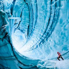 Iceland Langjokull Glacier