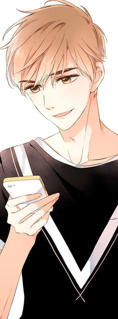 Love Like Cherry Blossoms- Xia yi Handsome Anime Guys, Hot Anime Guys, Anime Couples Manga, Cute Anime Couples, Anime Boy Sketch, Manga Kawaii, Cherry Blossom Art, Anime Love Couple, Manga Love