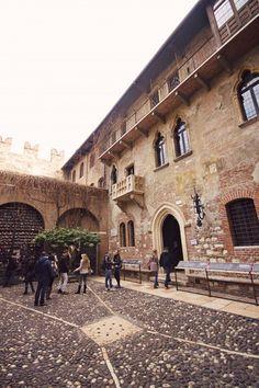 Shakespeare: Juliet's Balcony, Verona, Italy