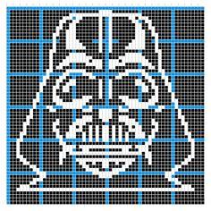 Graph Crochet Darth Vader