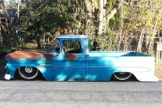 80's chevy stepside deep lowered - Google Search