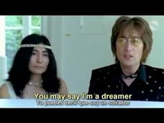 John Lennon Imagine subtitulada al espaol y al ingles - YouTube