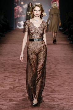 """AW 16/17 """"The Brits"""" Runway  """"Hot Chocolate Coutre Dress"""" made to order"""
