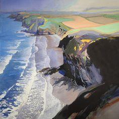 Por amor al arte: Bob Rudd Watercolor Landscape, Abstract Landscape, Watercolor Art, Seascape Paintings, Landscape Paintings, Landscapes, Andrew Wyeth, Strand, Creative Art