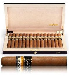Cohiba Siglo 6 Gran Reserva cigars are spectacular and so is their price: 150 euros each