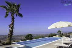 Villa Infinity is a modern villa, which you will notice with its floor-to-ceiling windows and wonderful panoramic view of the Mediterranean Sea. // renatevillas.com