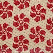 La Fete De Noel - Pearl Rouge Yardage - French General - Moda Fabrics — Missouri Star Quilt Co.