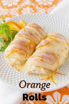 Brunch Recipes, Breakfast Recipes, Dessert Recipes, Croissants, Orange Sweet Rolls, Biscuits, Muffins, Sweet Roll Recipe, Delicious Desserts