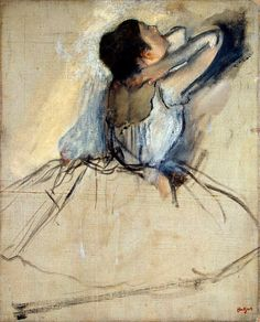 Edgar Degas (1834-1917) Dancer, c.1874. Oil on canvas.