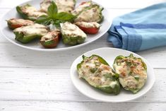 Low Carb Italian Sausage Stuffed Mini Peppers