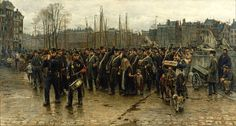 Isaac Israels - Transport of colonial soldiers - Google Art Project - Isaac Israëls - Wikipedia, the free encyclopedia